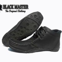 harga Sepatu Original Black Master Ferrari Boot Full Hitam Tokopedia.com