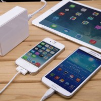 harga Noosy Fast Charging Usb Wall Multi Charger 6 Port Tokopedia.com