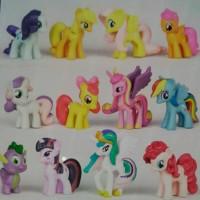 harga My little pony miniatur figure Tokopedia.com