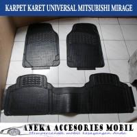 Karpet Karet Universal Mobil Mitsubishi Mirage