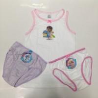 pakaian dalam anak disney original doc mcstuffin