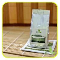 Jual Pure Matcha Greentea Bubuk Powder Green Tea Murni 50gr Reguler Murah