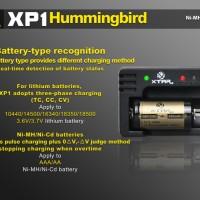 Xtar XP1 Hummingbird Micro USB Battery Charger 1 Slot for Li-ion Ni-Mh