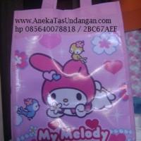 harga Goodie Bag Ultah Melody Model Kantong/ Tas Souvenir Ultah Anak Tokopedia.com