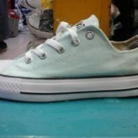 sepatu converse murah warna hijau muda + dus