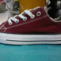 sepatu converse murah warna merah hati + dus