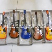 harga Miniatur Gitar Standart Gibson Hollow Body Series 2 Tokopedia.com
