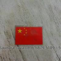 Polyflex Baju/Polyflex Shirts Bendera Negara/Nationality Flag (China)
