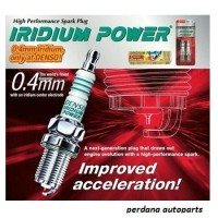 Busi Iridium Power DENSO IUF22 Utk Motor KYMCO