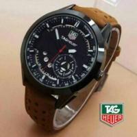 jam tangan tag heure brown