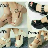 Jual Sexy Jelly Shoes Dodwel Wedges Sendal Jelly Murah