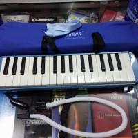 Alat Musik Pianika Tiup merk Tekken Biru Baru NEW Harga Murah Mantap