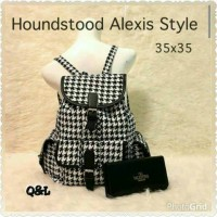 2 in 1 Hounstooth Alexis Style