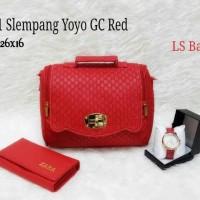 3 in 1 Slempang Yoyo GC Red