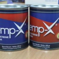 Harga lem epoxy demp x lem 2 komponen 0 5kg | Pembandingharga.com