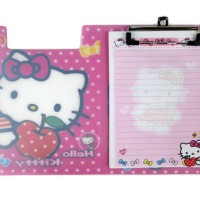 MMP23 - Binder Hello Kitty / Buku Memo + Alas Tulis Hello Kitty