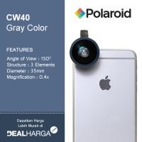Lensa Kamera HP - Polaroid Super Wide Angle Lens CW40 - Grey