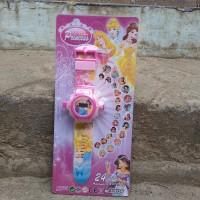 harga Jam Tangan Anak + Proyektor 24 Gambar Princess Disney - Aksesoris Anak Tokopedia.com