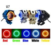 Lampu Sorot LED Cree Transformer U7 Angel eye + Demon eye GARANSI!!