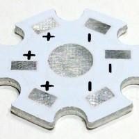 1W/3W PCB Aluminium Plate (Star)