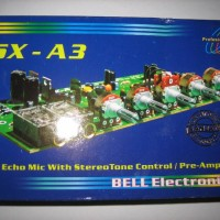 BELL-13 BSX-A3 KIT Pre-amp Echo Mic Repeater dan Tone control