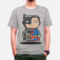 harga Kaos Tshirt Batman Vs Superman Abu Abu Dtg Custom Tokopedia.com