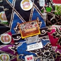 Jual Sarung Batik Tubanan Primisima Cap Cent (biru merah hijau pink ungu) Murah