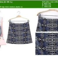 14840 rok etnic tribal import retro bodycon skirt