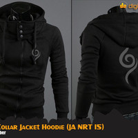 JUAL Anbu Hi-Neck Jacket Hoodie (Jaket Anime Naruto)