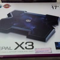 Cooling pad COOLER MASTER NOTEPAL X3 [HARGA WOW GITU]