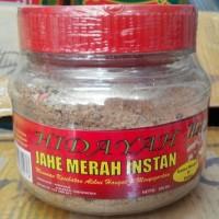 Jahe Merah Instan Hidayah, Hot kemasan toples 300 gram