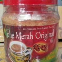 Jahe Merah Original Cangkir Mas, Kemasan toples 330 gram