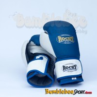 Sarung Tinju Rocky Training DX Boxing Gloves - Biru