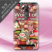 harga Hard Case Back Cover Asus Zenfone 2 Ze551ml Ze550ml - Crazy Candy Tokopedia.com