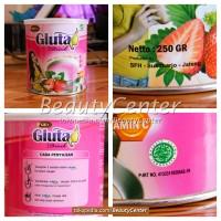 harga Gluta Drink Original Varian Strawberry Tokopedia.com