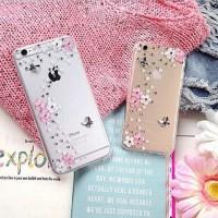 harga Flower Butterfly Swarovski Case For Iphone 5/5s/6/6+ Tokopedia.com