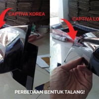 harga Talang Air Mobil Captiva Slim 3m (lokal) Tokopedia.com