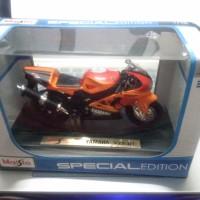 harga Diecast Motor Yamaha Yzf R7 Skala 1/18 Maisto Orange Tokopedia.com