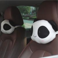 Bantal Mobil (1 set 2pcs) Lovely Bear Headrest