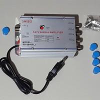 Penguat Sinyal TV SHIBEI 40dB (Tanpa Efek Samping)