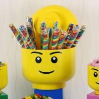 LEGO # 4032 Storage Head Boy (L) - LARGE
