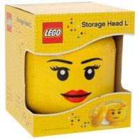 Lego - # 4032 Storage Head Girl (L) - Large