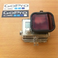 Red Filter For GoPro Hero 3+ / 4
