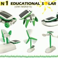 Jual Promo Robot Solar 6 in 1| Edukasi Merakit Robot Mainan Murah