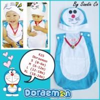 Jual Baju Kostum Bayi Jumper Doraemon Murah