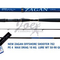 harga Zen Zagan Joran Off Shore Shooter 7 Feet - Pe 4 Tokopedia.com
