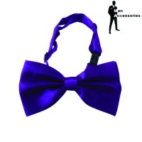 Bow Tie Dasi Kupu-kupu Satin Purple