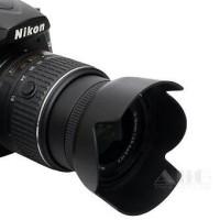 LENS HOOD for NIKON D3300 D3200 D5200 18-55mm VRII HB-69 HB69
