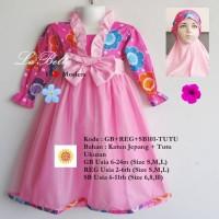 Baju Muslim Anak Labella (SB101 TUTU Pink)
