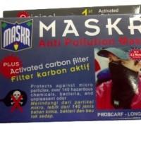 harga Masker Carbon / Karbon W/ Filter Anti Polusi Asap Debu Long   Maskr Tokopedia.com